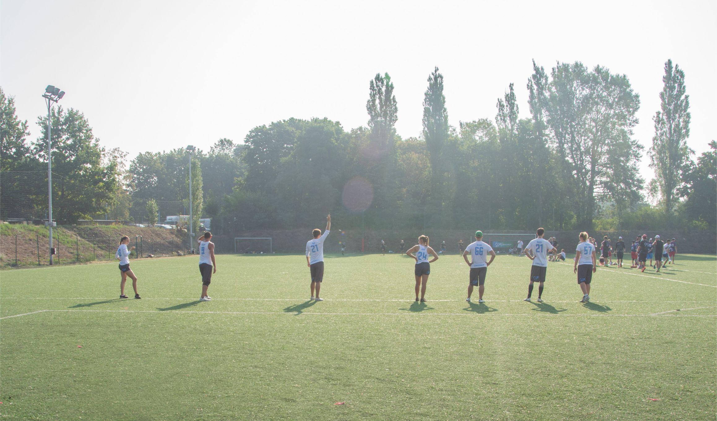 Mecz ultimate - 7 osób na linii
