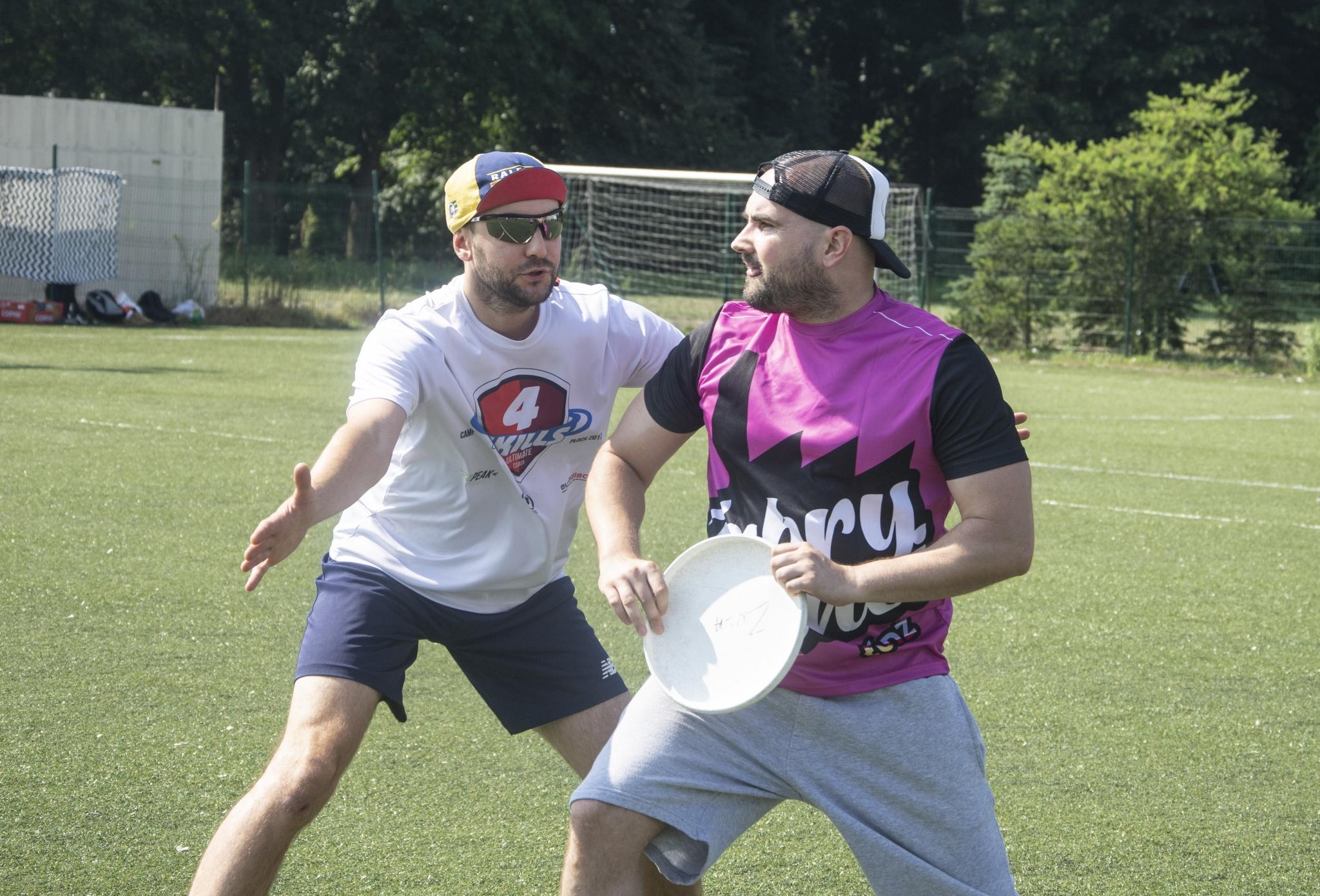 Liczenie zawodnika ultimate frisbee