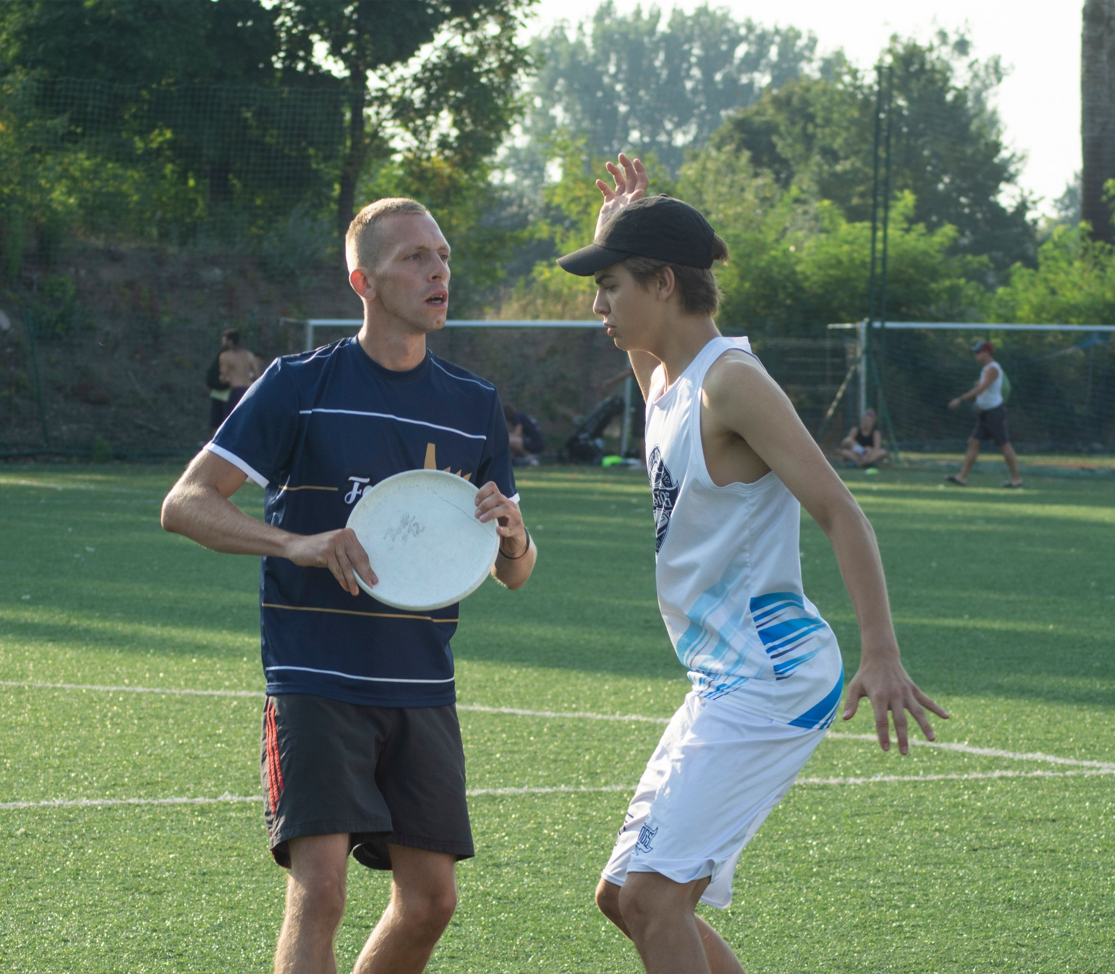 MARK w ultimate frisbee